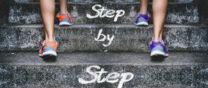 小さな一歩